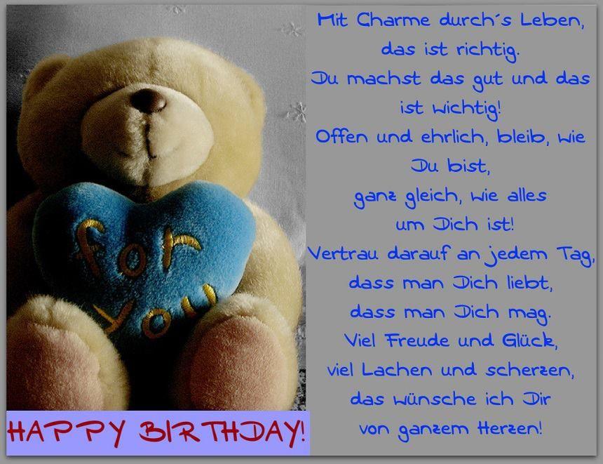 Happy Birthday Mit Bildern Geburtstagswunsche