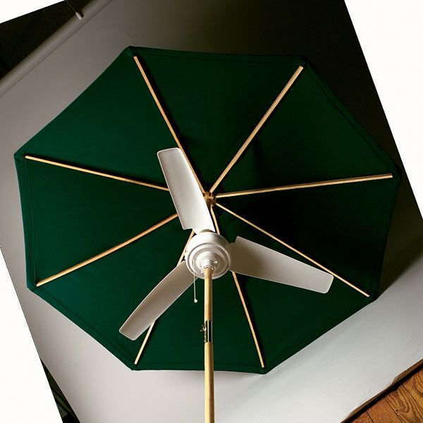 patio umbrella fan decoomo