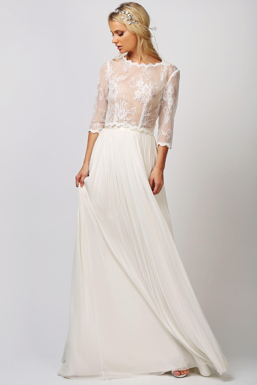 JAMIE TOP + ANIKA SKIRT   The Wedding   Pinterest   Wedding dresses ...
