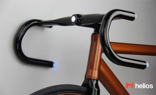 Smart Bike Handlebars Have Turn Signals Gps Speedometer Bike
