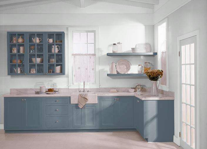 nypd blue kitchen kitchen cabinets kitchen remodel behr paint. Black Bedroom Furniture Sets. Home Design Ideas