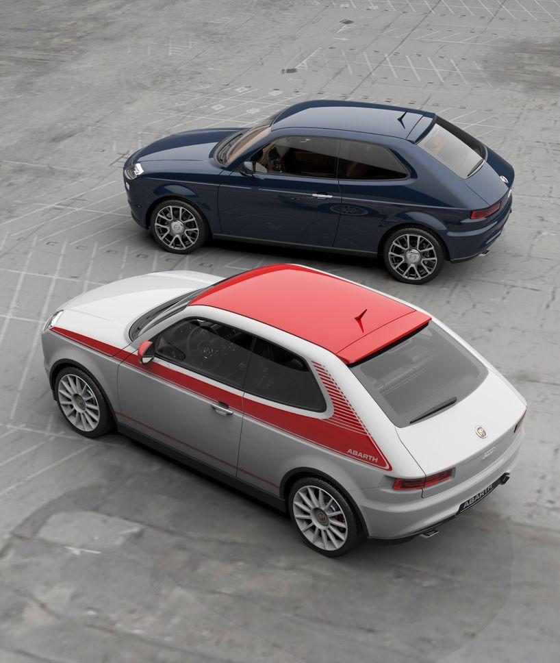 Abarth 127 Concept Auto Elettriche Futura Macchina E Auto