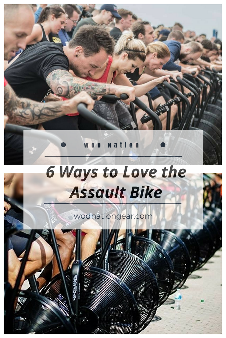 6 Ways to Fall in Love with the Assault Air Bike Biking