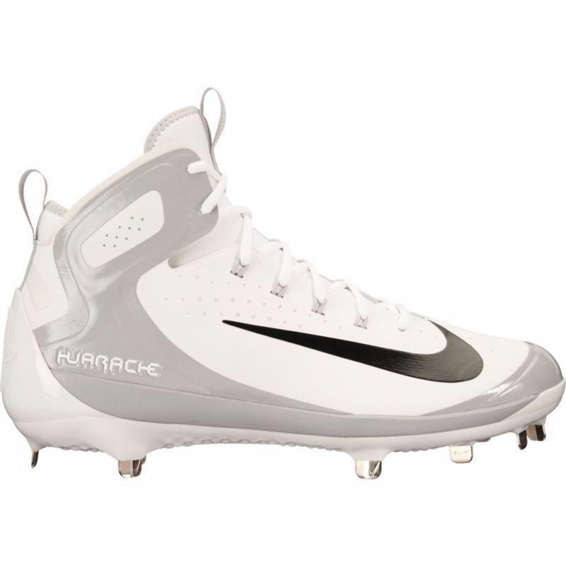 6c3d3d94f51 ... where can i buy nike mens alpha huarache elite mid baseball cleats size  15.0 white baseballcleats