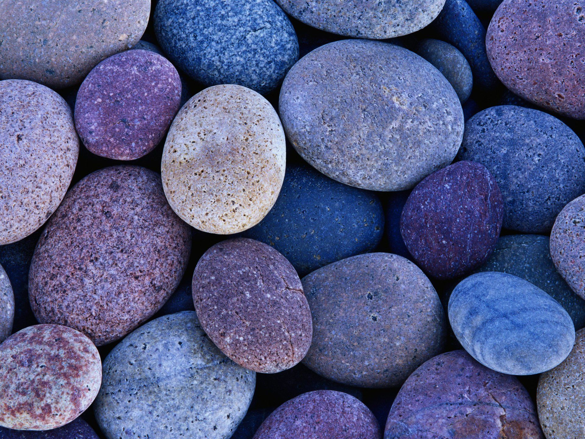 Blue And Purple Stone Rocks Hd Desktop Wallpaper More Wallpaper