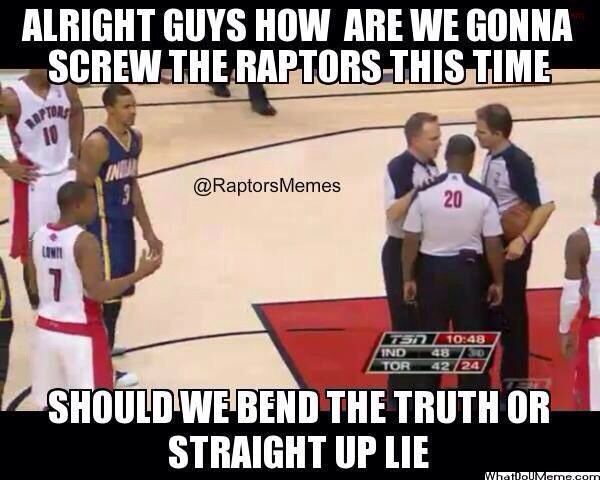 How are the refs going to screw the Raptors this time? | Raptors, Toronto  raptors, Favorite team