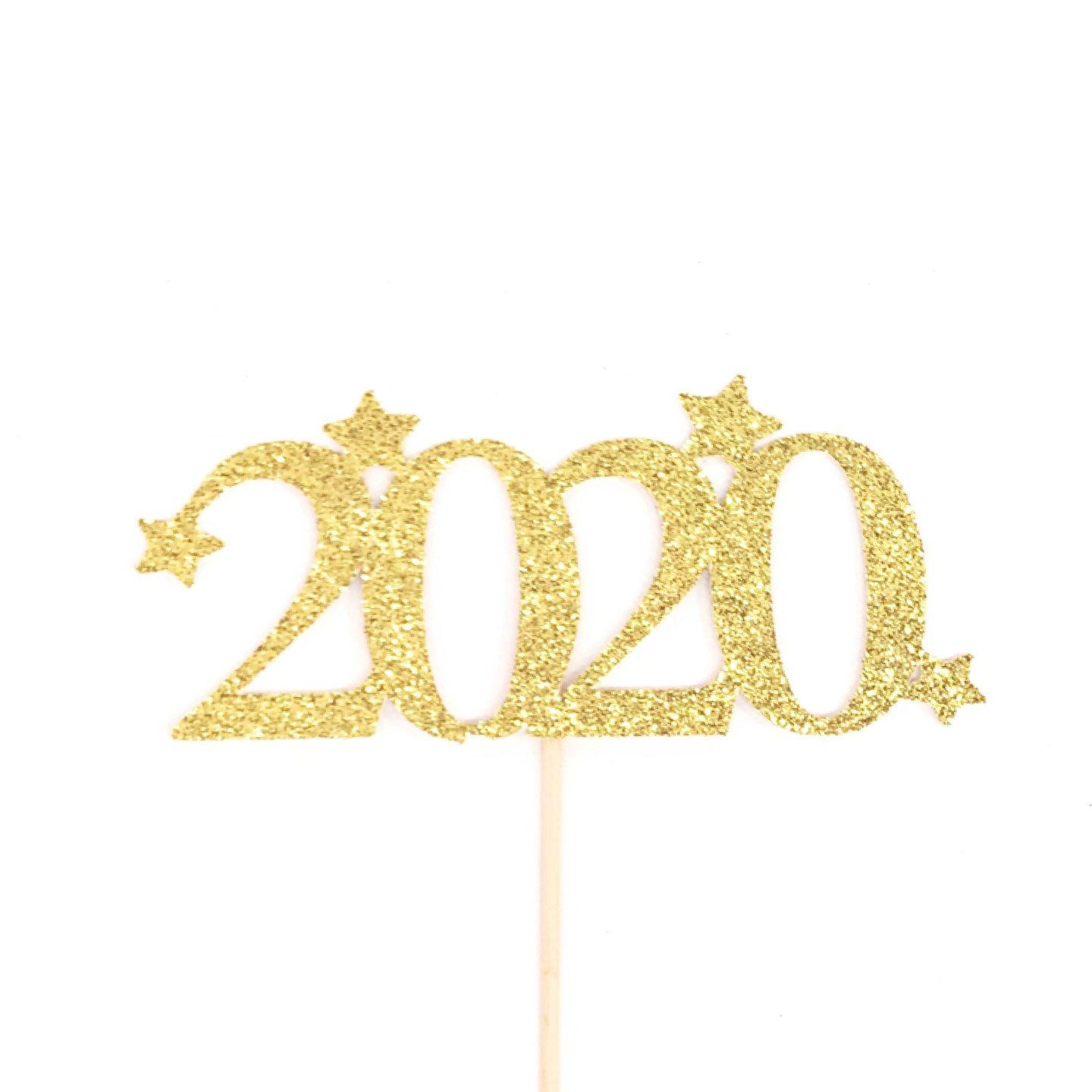 2020 Cake Topper, New Year Party Cake Topper, New Years