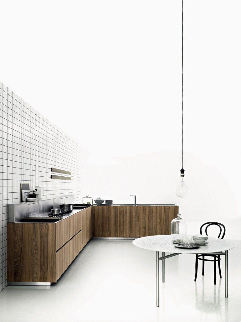 Line Küchen Preise küche aus holzfurnier k20 boffi kuechen