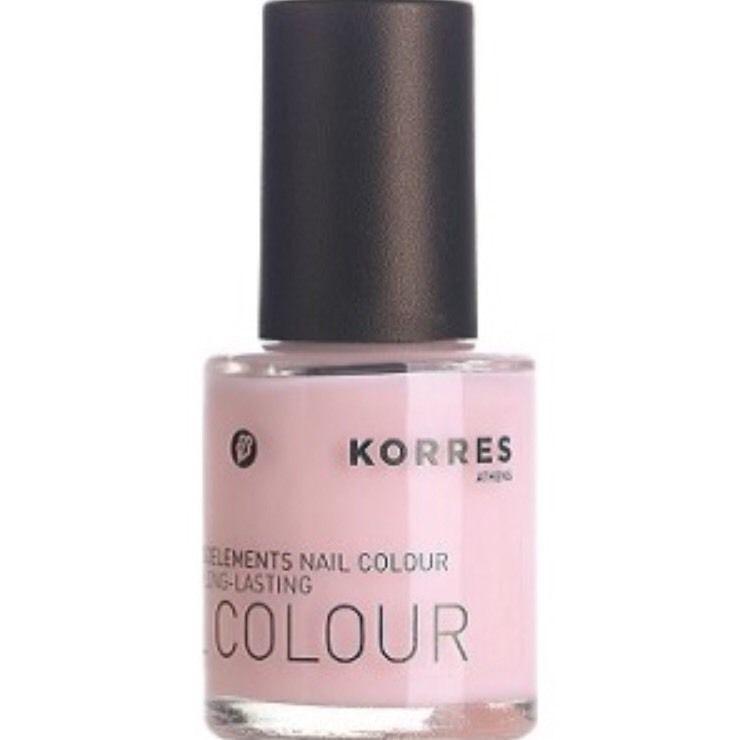 KORRES Nail Polish Colour 05 Baby Pink   Acetone & Formaldehyde FREE ...