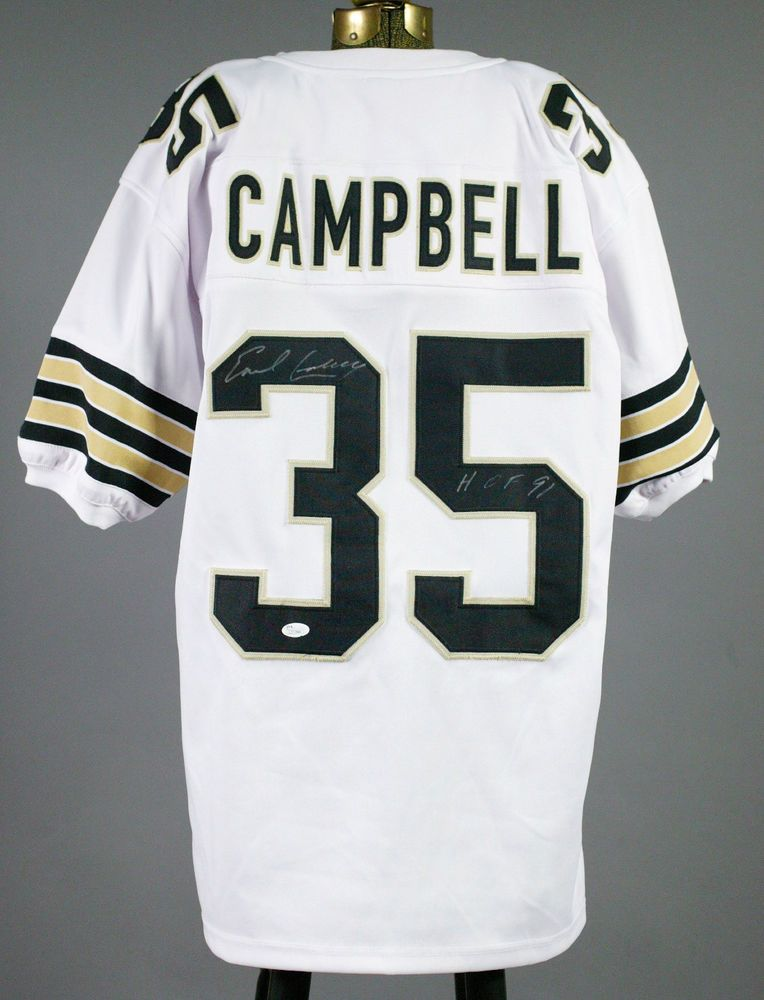 separation shoes 87aee 5fdf0 Earl Campbel Autographed Saints Jersey   Stuff to Buy   New ...