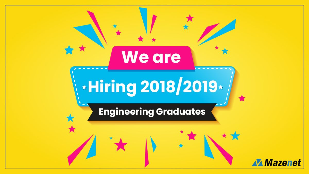 Are you a 2018/2019 Engineering Graduate? At the