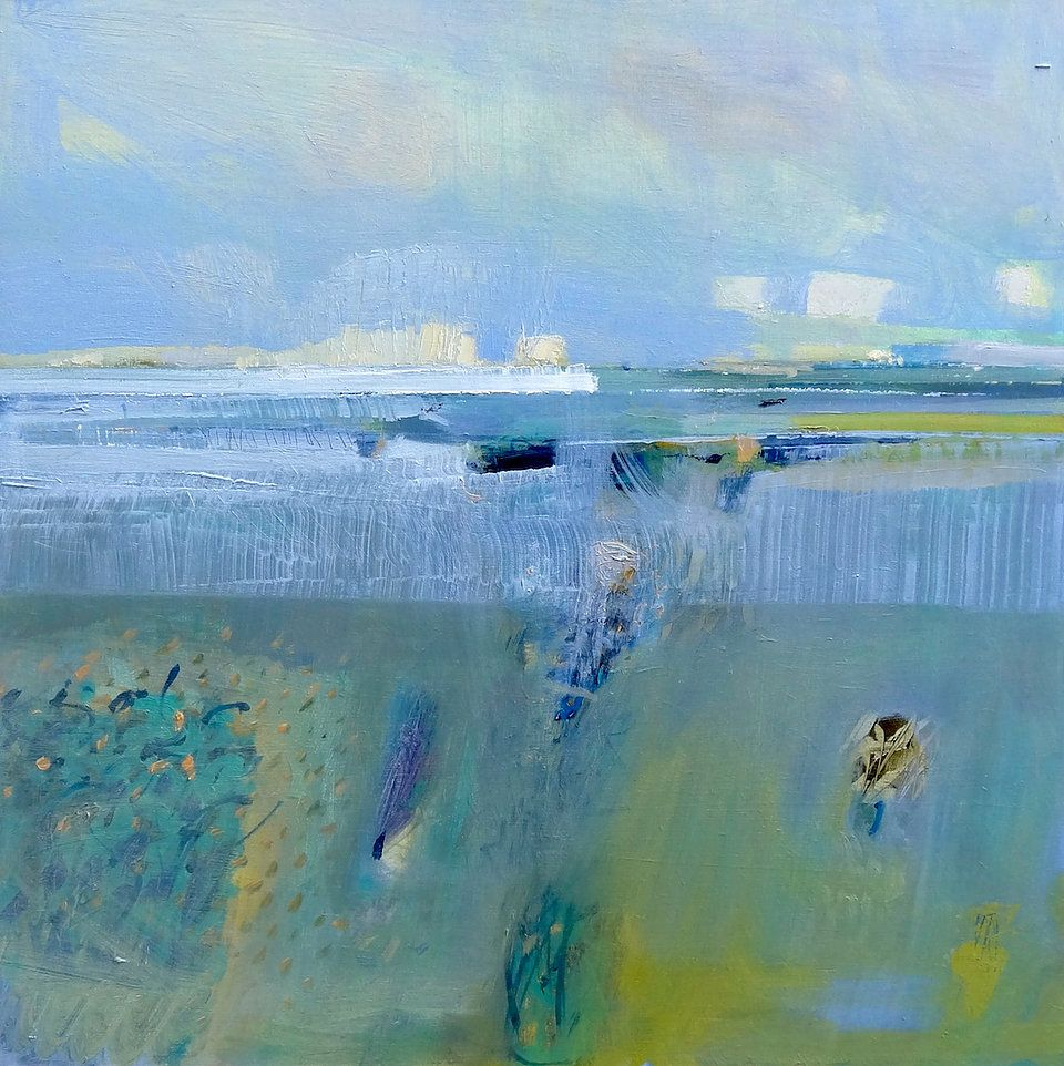 Malcolm Ashman contemporary landscape paintings and