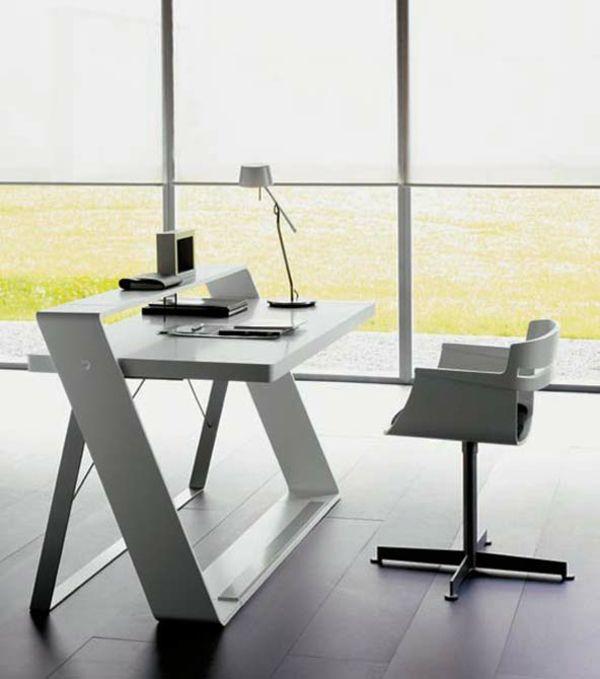 moderne schreibtische g nstig, moderne schreibtische, die auch für ihr heimbüro gut geeignet sind, Design ideen