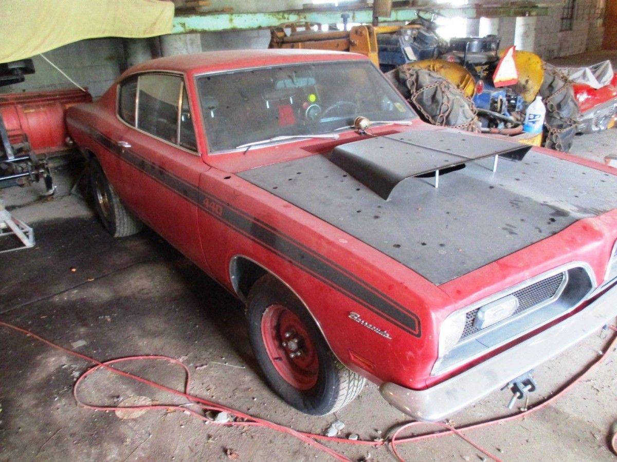 Retired Drag Car! 1969 Plymouth Barracuda 440 | Barn Finds