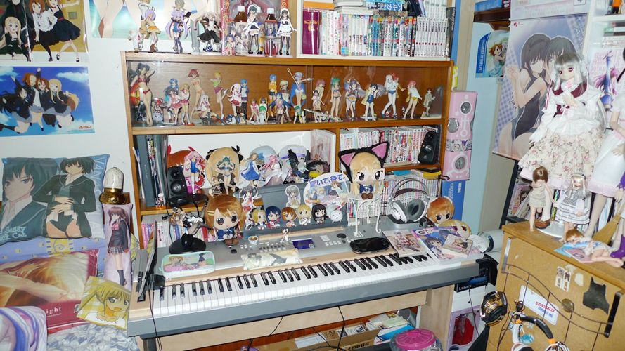 Otaku Pride Decorating In Nerdy Anime Style Anime