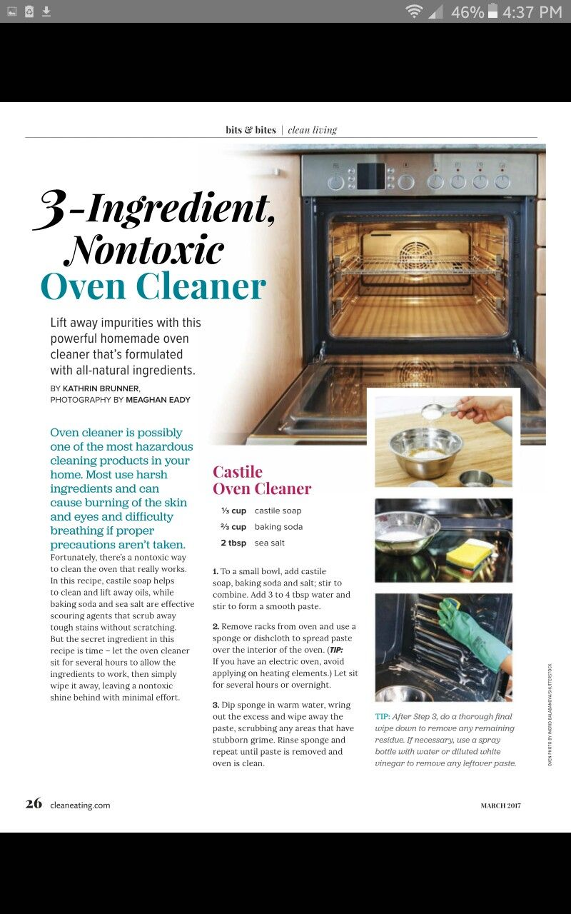 Pin by Denay Walker on DYK Oven cleaner, Homemade oven