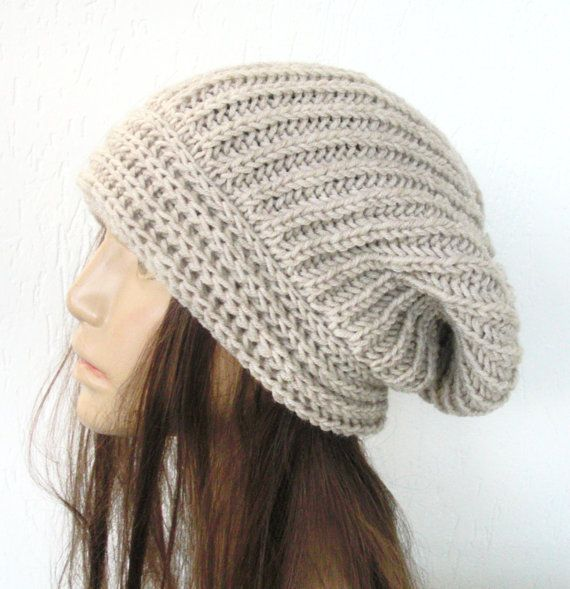 KRWHTS New Women Winter Hand Knit Slouchy Beanie