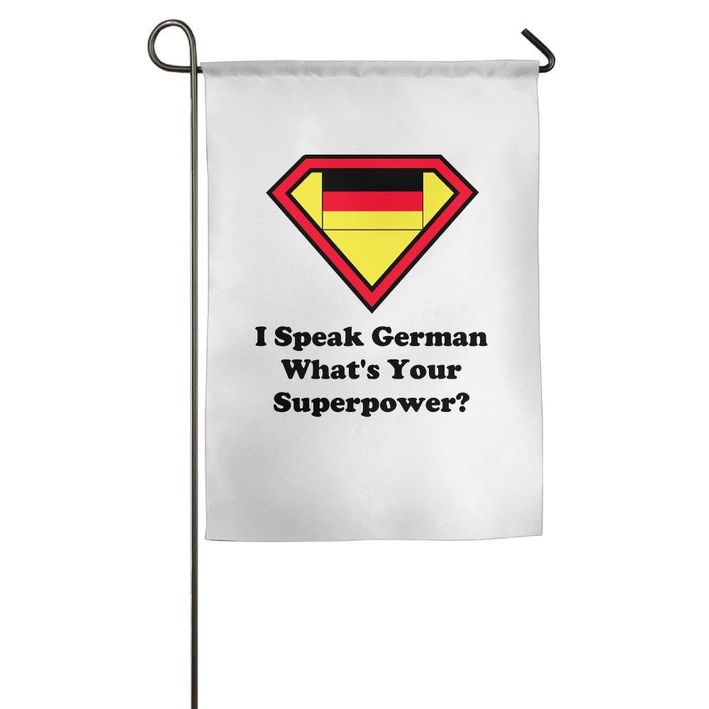 I Speak German House Flags Monogram Core Flag -- Awesome products selected by Anna Churchill