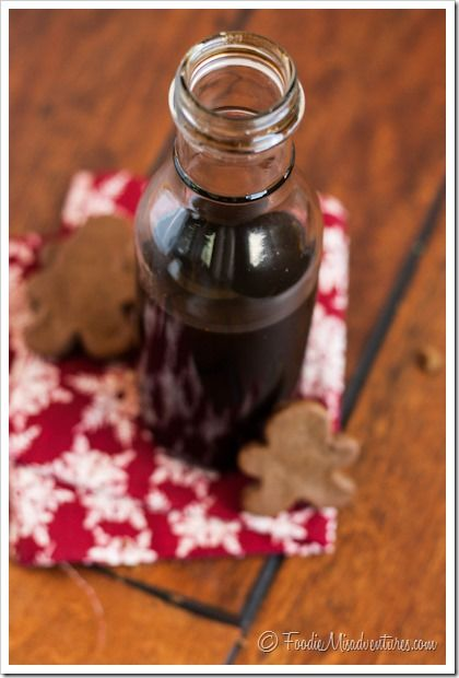 Gingerbread Syrup | The Marvelous Misadventures of a Foodie
