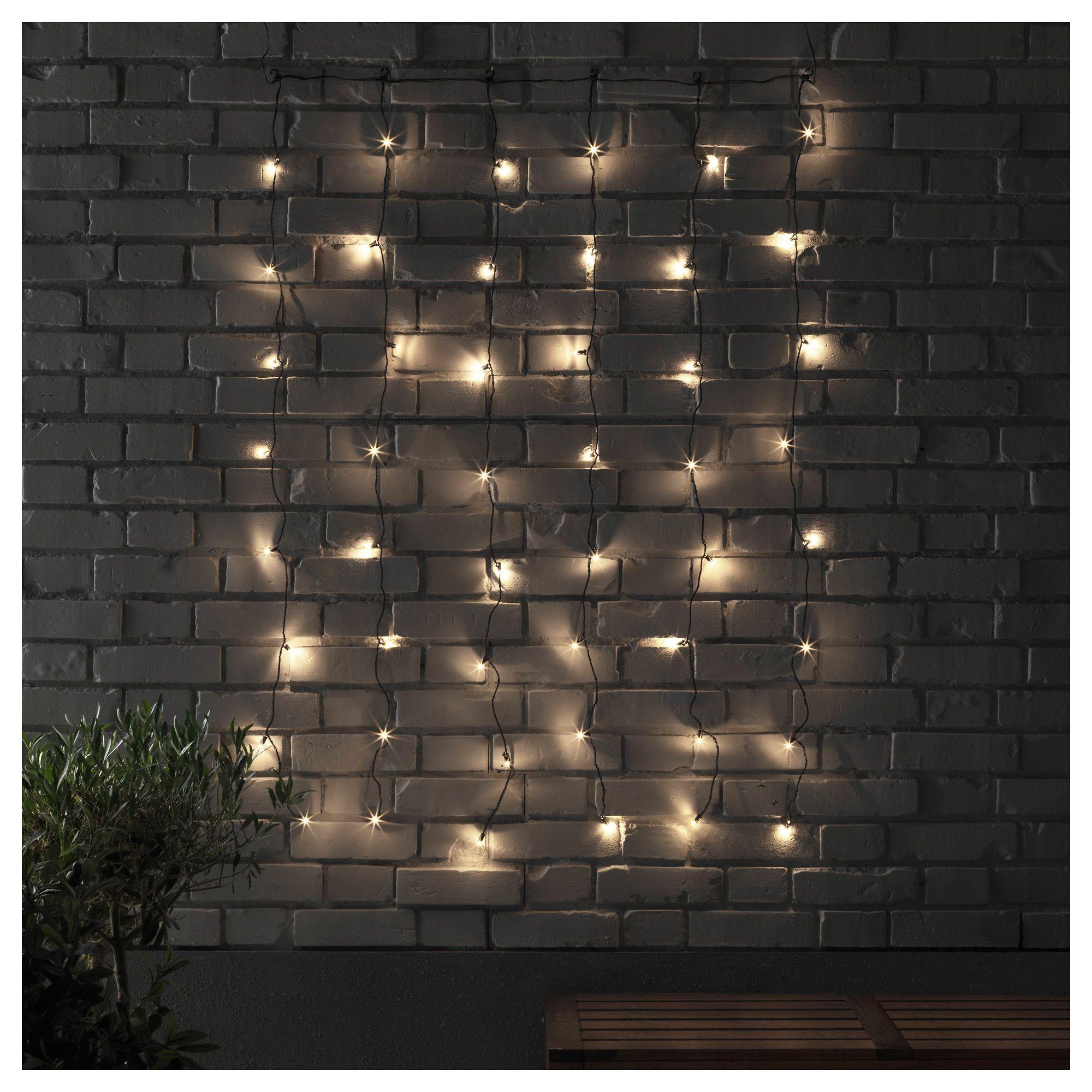 Ikea Skruv Led Lighting Curtain With 48 Lights