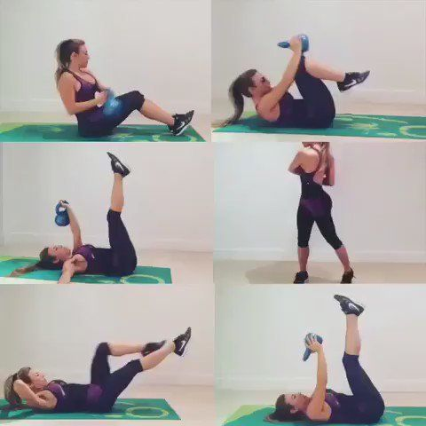 """Life Pro Fitness on Twitter: """"Abs workout using a kettle bell  https://t.co/ThrM3nyCCq"""""""