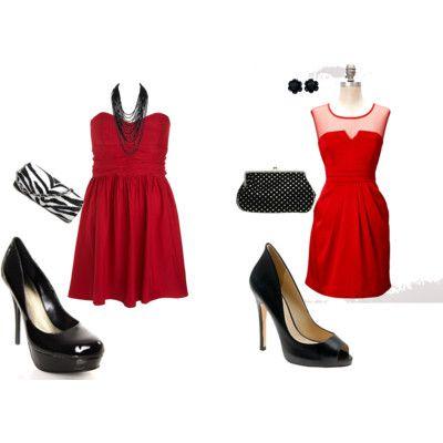 Accesorios Para Vestido De Fiesta En Rojo Vestido Rojo De