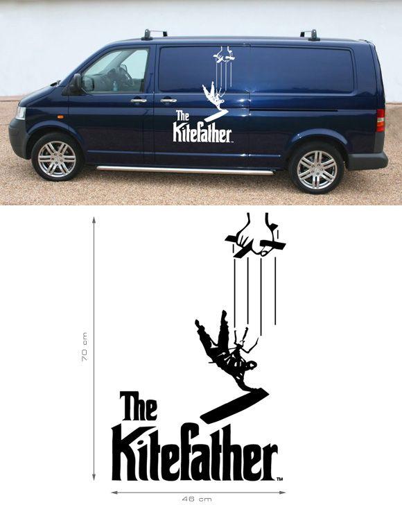 #kiter #kiting #kitefreak #kiteboarding#windsurfing #autoaufkleber by freaksoffashion.com