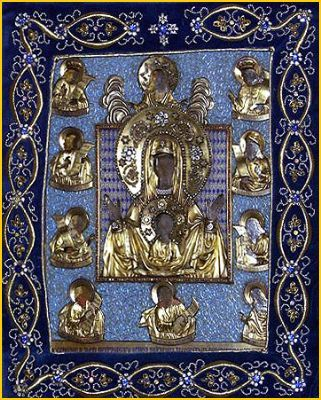 """Icon of the Mother of God """"of the Sign"""", the """"Kursk-Root"""""""