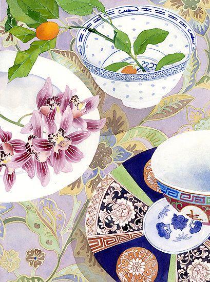 Still life with ceramics, by Gabby Malpas.
