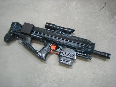 This is a site for Nerf blaster modifications.