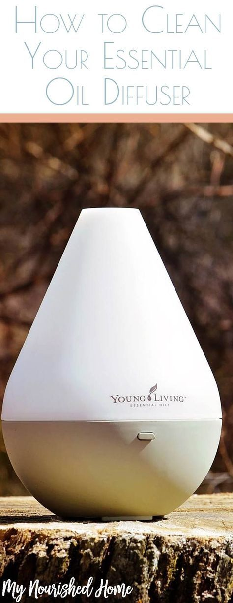 Instructions To Clean Your Essential Oil Diffuser All Things Diy