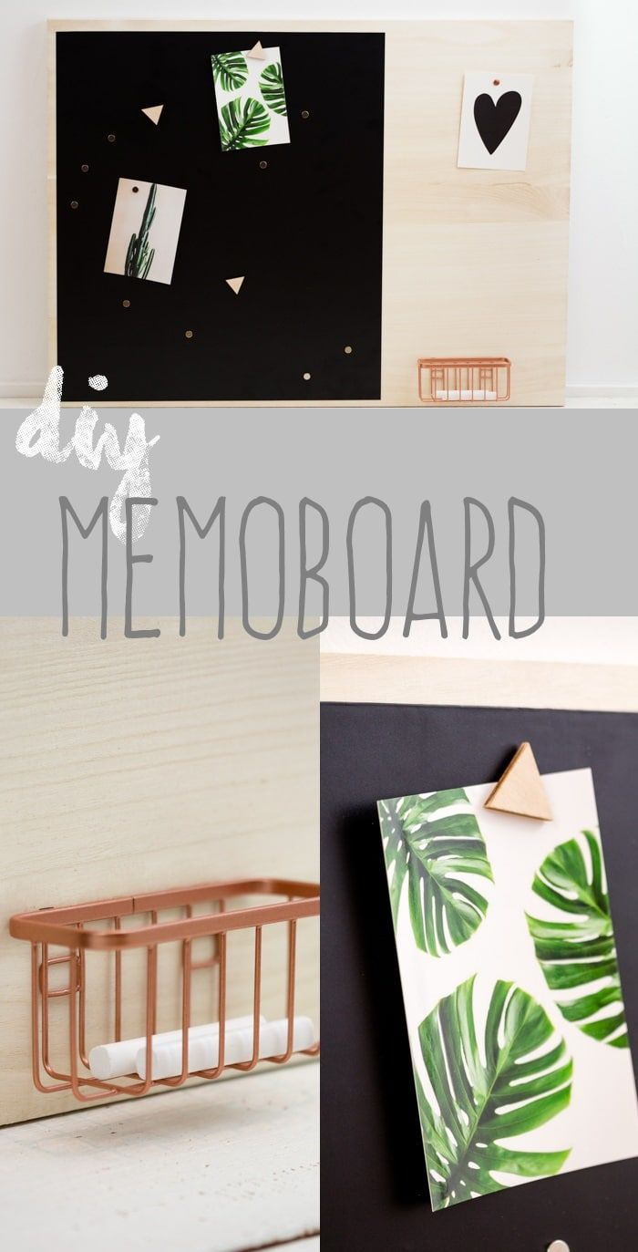 DIY multifunktionales Memoboard