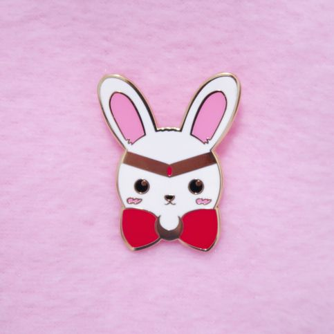 Photo of ♡ Bun the Moon Bunny Pin ♡ from Cloud Candy Castle