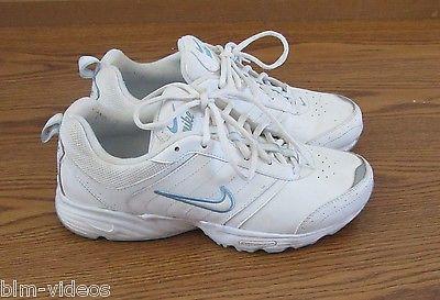 Rolling Rail white / powder blue Nike walking shoes Women