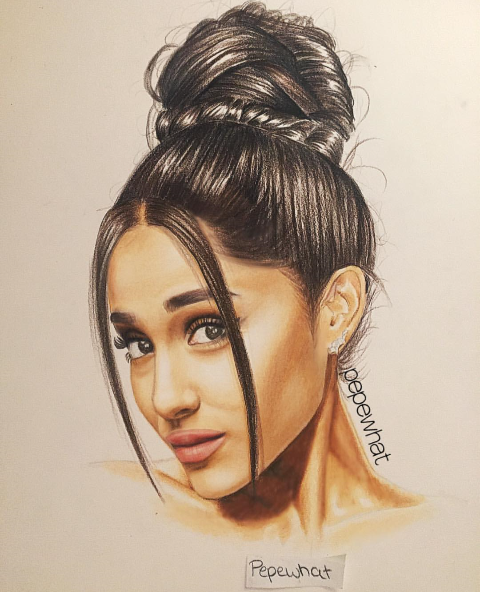 Pepewhat drawing | Ariana Grande ️ | Pinterest | Drawings ...