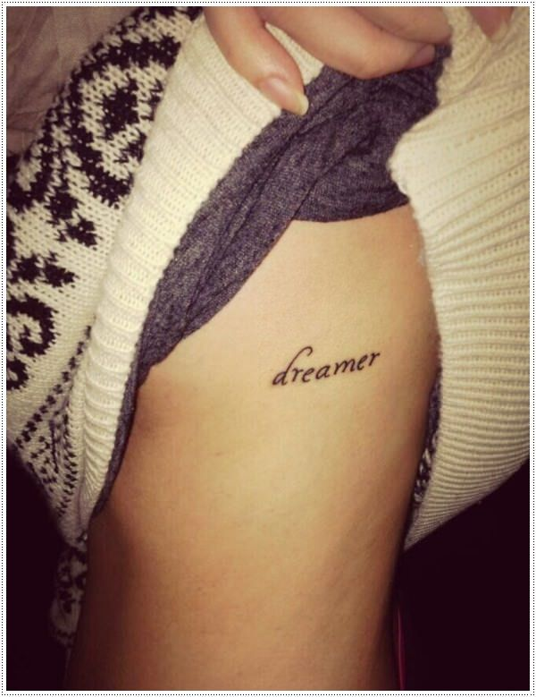 40 charming one word tattoo examples small tattoo for Tattoos with hidden words