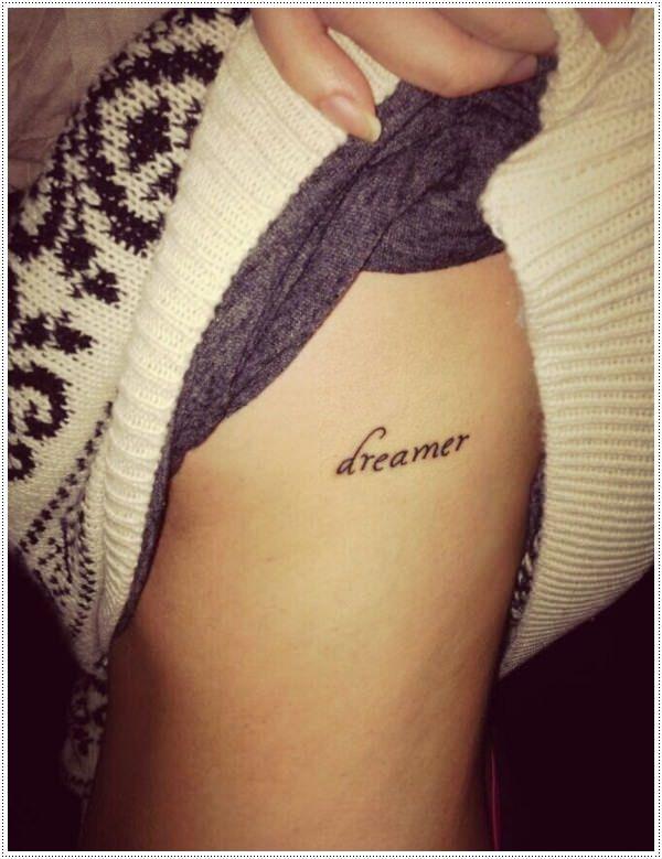 40 Charming One Word Tattoo Examples Tattoos Pinterest Tattoos