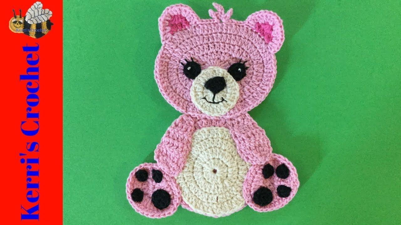 Crochet Teddy Bear Tutorial | video-of stitches new patterns | Pinterest
