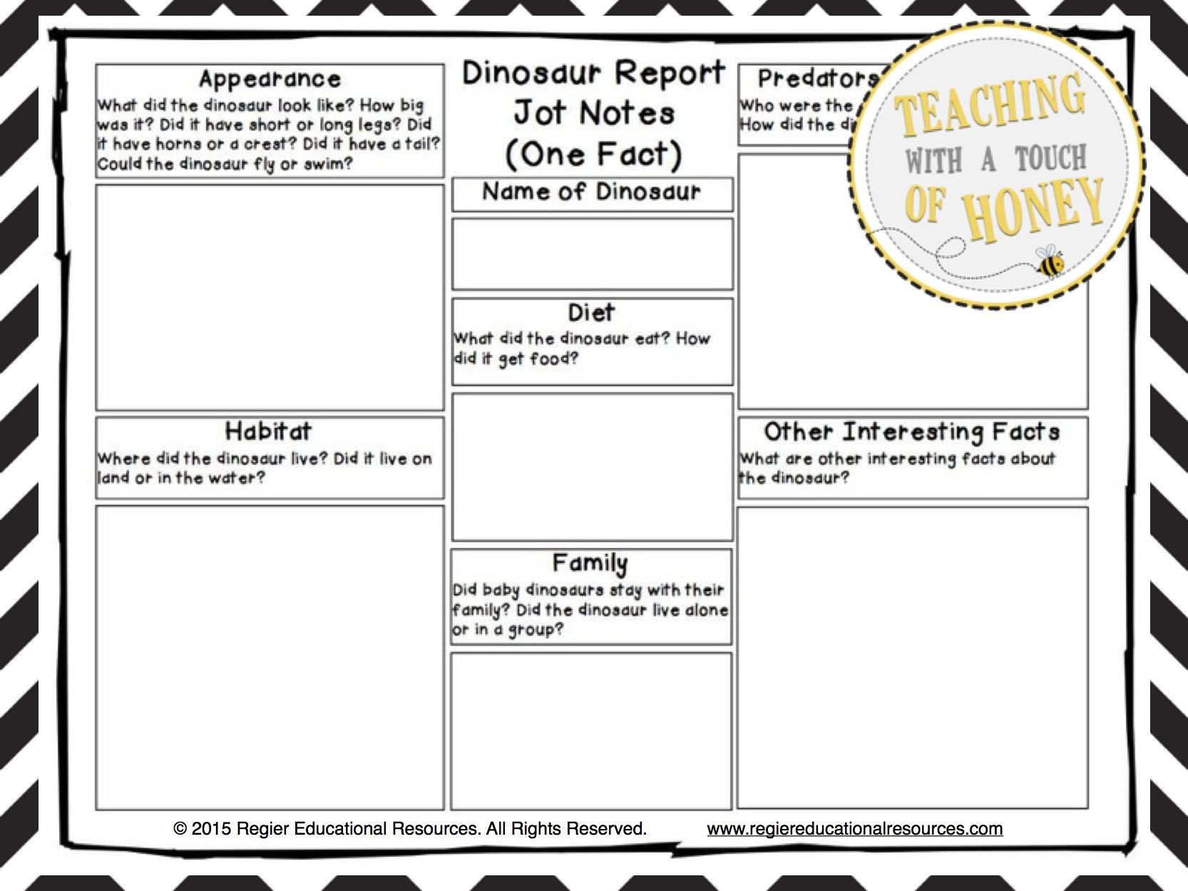 dinosaur research report writing templates dinosaur activities