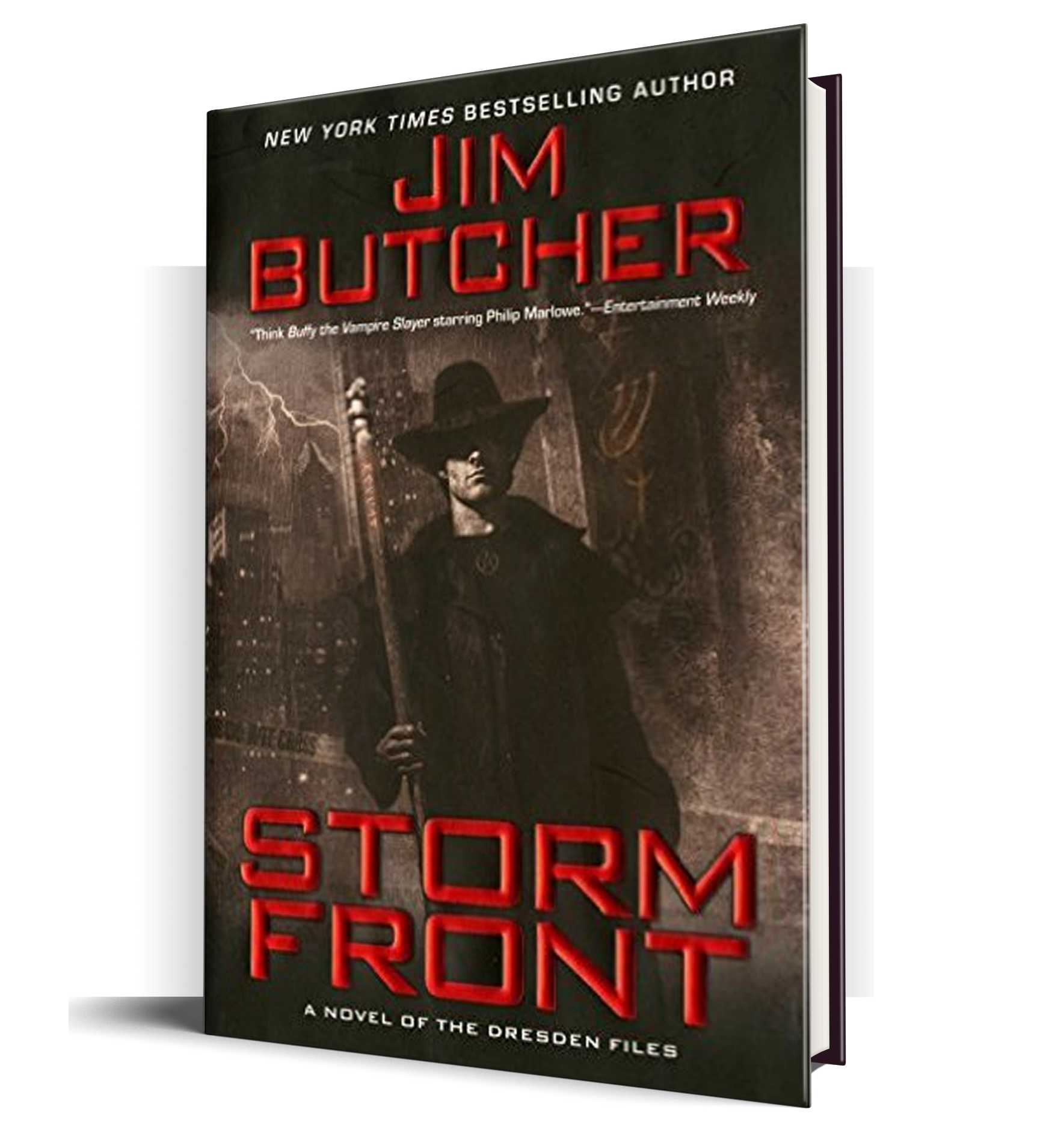 Win A Free Hardcover Edition Of Jim Butcher S Storm Front Book Authors Good Books Books To Read