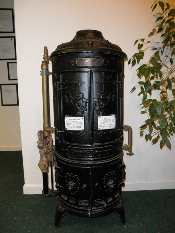 1904 Antique Pittsburg Instantaneous Water Heater So Cool