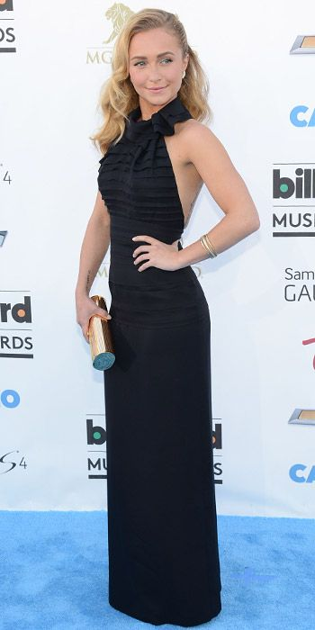 Billboard Music Awards 2013 Fashion Photos: What Everyone Wore! - Hayden Panettiere in Halston Heritage from InStyle.com