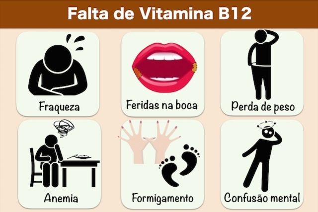 falta vitamina b12 sintomas neurologicos