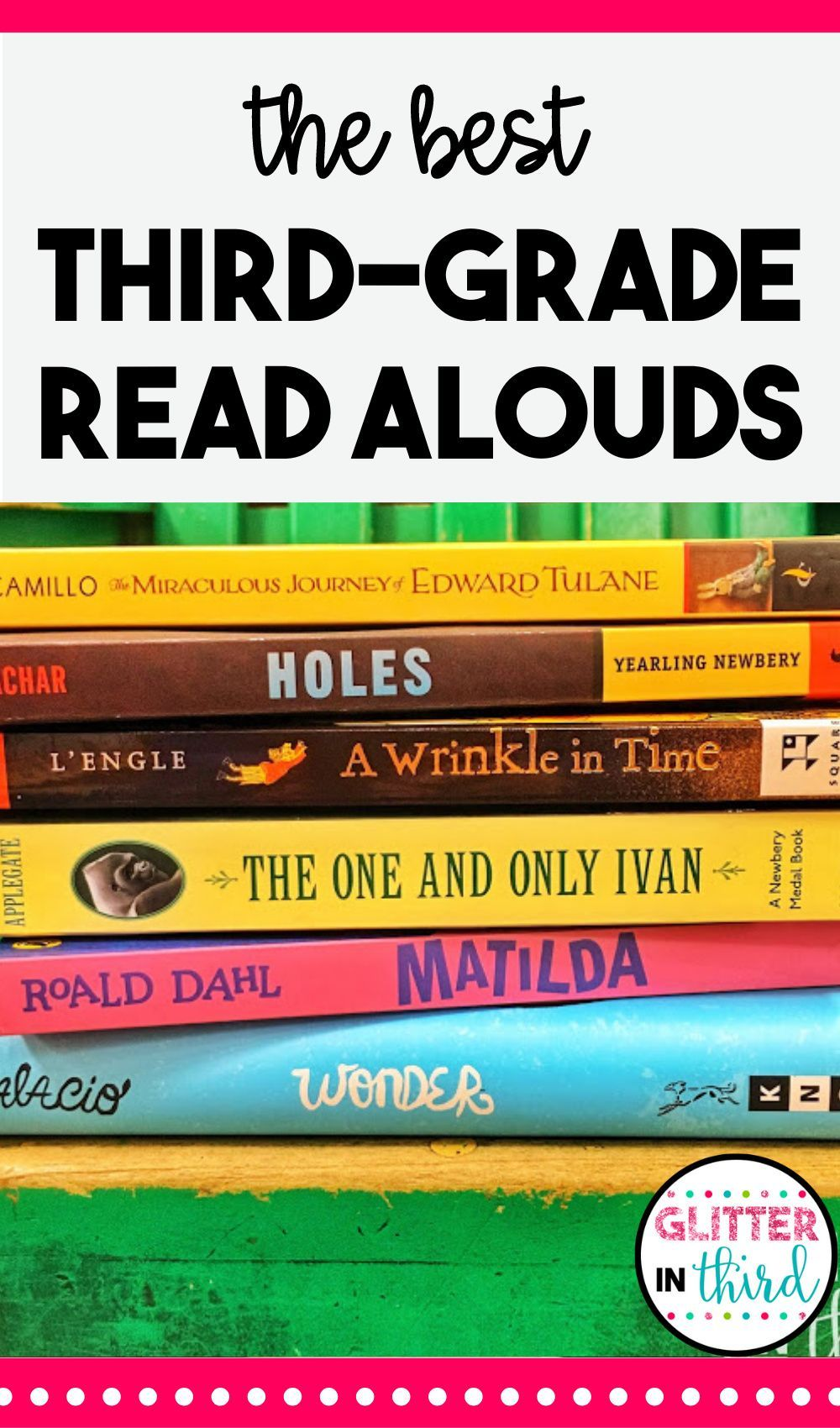 The Best Read Aloud Chapter Books For 3rd Grade Read Aloud Chapter Books Teaching Third Grade Teaching Reading Comprehension Best reading comprehension books for