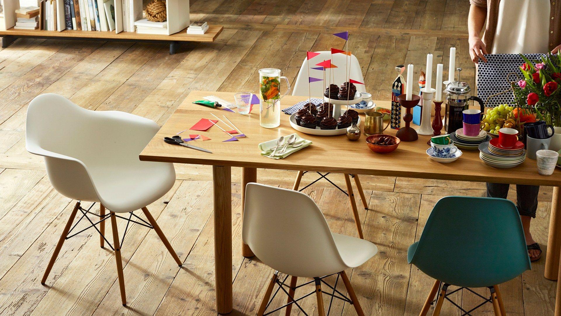 Daw Sedia Con Cuscino Integrato Collezione Eames Plastic Chair By Vitra Interior