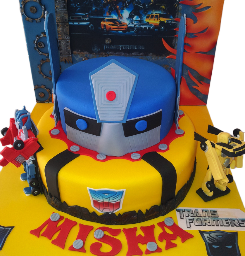 Enjoyable Transformers Birthday Cake 838878 With Images Personalised Birthday Cards Paralily Jamesorg