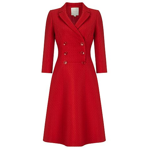 Buy Phase Eight Limited Edition Dress Eight, Red Online at johnlewis.com