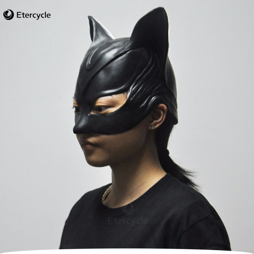 Movie Batman Catwoman Rubber Latex Party Mask Halloween Lady ...