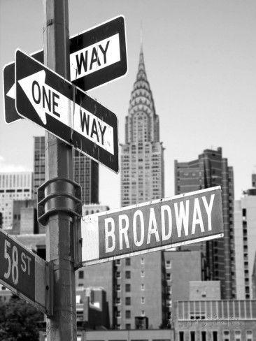 'Broadway' Photographic Print - | AllPosters.com