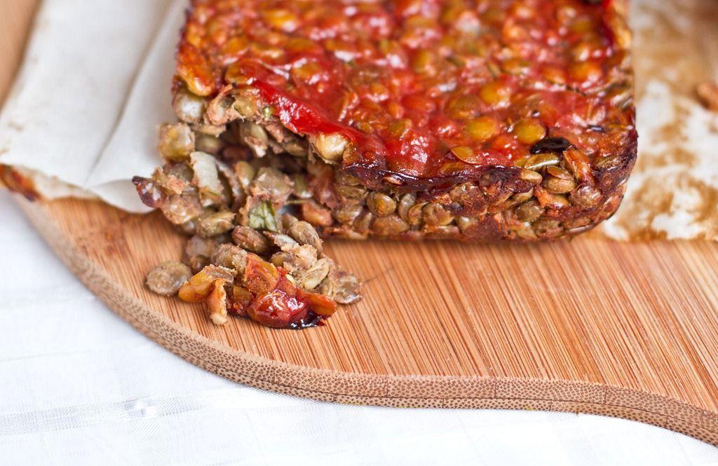 lentil walnut loaf lentil loaf glow vegan vegetarian vegetarian ...